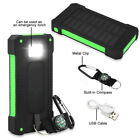 2000000mAh Solar Power Bank Compass Battery Charger 2USB For All Mobile Phones