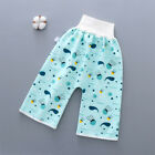 Absorbent Short Protect Belly Home Soft Cotton Waterproof Baby Diaper High Waist