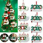 2020 Add Name Xmas Christmas Tree Hanging Ornaments Family Ornament Decor Gifts