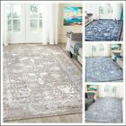 A2z Rug Traditional Vintage Style Distressed Floral Living Dining Room Area Rugs