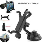 Universal 360° Rotate Car Mount Windshield Tab Holder For 7-11inch Tablet PC GPS