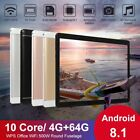 """10.1"""" Tablet Computer Notebook Laptop Android8.1 512GB Tablets WIFI Dual Camera"""