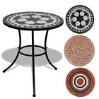 Ceramic Top Bistro Table 60 Cm Mosaic Round Outdoor Patio Garden Furniture Café