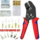Insulated Splice Crimping Cable Wire Terminals Connectors Crimper Pliers Tool