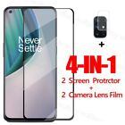 4-in-1 For Oneplus Nord N10 5G N100 Screen Protector Glass  Camera Lens Film