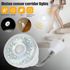 Motion-Activated Bright LED Night Light For AC Outlet Plug-In No Wiring Needed