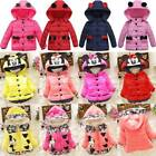 Toddler Baby Girl Coat Minnie Mouse Hooded Jacket Clothes Hoodie Warm Outwear