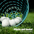 Golf Ball Basket Portable Nylon Clubs With Handle Space Saving Storage Container