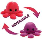 Funny Double-Sided Flip Reversible Octopus Cute Plush Toys Animals Doll Gift UK