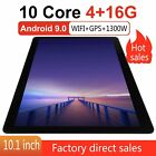 10,1 Zoll HD Tablet PC Android 10.0 Kamera Bluetooth 4GB+16GB Wifi WLAN Tablette