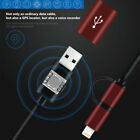 GPS Data Line Locator Voice Recorder Pen Record Charging Dual Interface Cable MK
