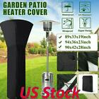 Waterproof Patio Heater Dust Cover Furniture Cover Garden Rattan Protector Us