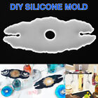 Silicone Resin Casting Mold DIY Keychain Jewelry Pendant Making Tool Epoxy Craft