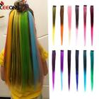 Leeons Clip-in One Piece For Ombre Hair Extensions Pure Color Straight Long Synt