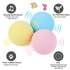 Cat Toy Ball, Interactive Cat Kicker Toys with Lifelike Animal Chirping
