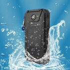 Waterproof Solar Power Bank 900000mAh Portable External Battery Fast Charger US