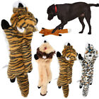 Pet Dog Soft Plush Chew Toy Squeaky Squeaker Play Sound Puppy Teeth Toys