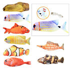 Fish Cat Toy Realistic Plush Electric Wagging Funny Fish Toy Pet Kitten Chew