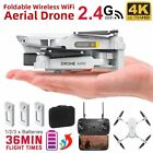 Drone X Pro WIFI FPV HD 4K Camera Foldable Selfie RC Quadcopter Drone + Battery