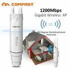 Comfast Outdoor 2.4/5.8G WiFi Signal Amplifier Repeater 1200M Wireless Range