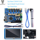"""Duet 2 Wifi V1.04 Cloned 32 Bit Board With 4.3"""" PanelDue Touch Screen Controller"""