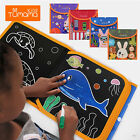 1pc Kids Drawing Book Portable Travel Erasable Book Painting  Writing Board