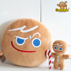 Cookie Run Kingdom Ovenbreak Official Gingerbrave Plush Doll Cushion Stuffed Toy