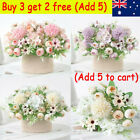 Silk Peony Artificial Fake Flowers Bunch Bouquet Home Wedding Party Decor Nv Au