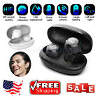 Waterproof Bluetooth 5.0 Wireless Earbuds Stereo Bass Headsets Headphones Mic US