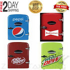 Compact 6 Can Cooler Mini Fridge Office Personal Portable Wall or Car Plug In