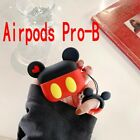 Cute Micky Minnie AirPods Case Cover Protective Cover for Apple Earpod 1 2 Pro