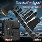 Camping Survival Axe Hatchet Tactical Backpack Tomahawk Outdoor Hiking Tool Set