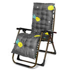 """67"""" Rocking Chair Thicken Cushion Pad Lounge Chair Seat Bench Recliner Pil"""
