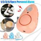 130dB Safe Sound Personal Alarm Keychain Self-Defense Emergency Siren LED Gift