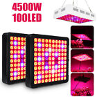 4500W LED Grow Light Panel Lamp Full Spectrum Hydroponic Plant Growing