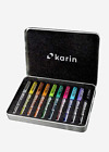 KARIN Deco Brush Markers Metallic 10 colours set, assorted
