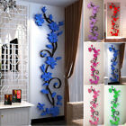 Rose Flower Wall Sticker Removable Acrylic Home Decor Decal Stickers New