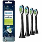 Philips Sonicare Diamond Clean Replacement Toothbrush Heads HX6064 BLACK UK POST