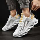 Men's Athletic Sneakers Outdoor Sports Jogging Casual Walking Shoes Gym Tennis