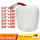 Outdoor Exercise Gym Climbing Dock Line Boat Mooring Rope w/ Thimble
