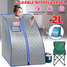 2L Portable Steam Sauna Spa Slim Full Body Tent Loss Weight Detox Therapy 1000W