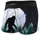 Believe Bigfoot Men's Quick Dry Sexy Boxer Brief Soft Comfy Underwear