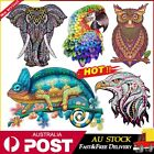 New Wooden Jigsaw Puzzle Unique Animal Jigsaw Pieces Adult Kid Toy Home Decor Au