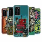 OFFICIAL DAVID LOZEAU COLOURFUL ART HARD BACK CASE FOR HUAWEI PHONES 1