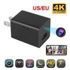 Mini Charger spy Camera 4K Wifi HD Security Camcorder DVR Wall Charger Adapter