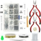 Jewlery Making Kit Crafts Supplies And Repair Tools For Jewelry Diy Lovers Parts