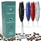 Elementi Electric Milk Frother Handheld,Frappe Maker,Foam Maker for Coffee Mixer