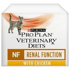 Purina Pro Plan Veterinary Diets NF Renal Function Wet Cat Food 10 x 85G Pouches