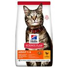 Hills Science Plan Adult 1-6 Dry Cat Food (Chicken)