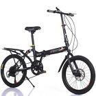US 7Speed Folding 20in Adult Students Ultra-Light Portable City Mountain Cycling